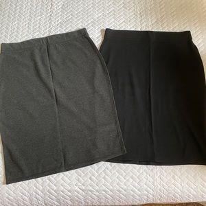 Old Navy Knit Pencil Skirt Bundle
